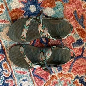 Chaco Z strap with Cloud footbed